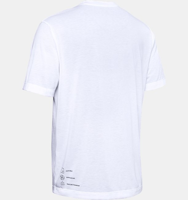 Playera UA Always On Pack-It para Hombre